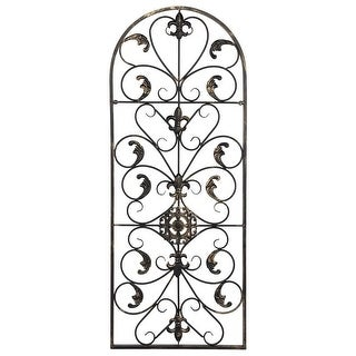 """Link to 41.5"""" Retro Decorative Arch Wall Art Victorian Style Iron Ornament Vintage, Holiday Decorations, Christmas Wall Art Similar Items in Wall Sculptures"""