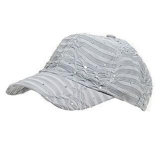 Glitter Caps-Silver W41S53F