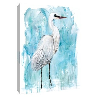 "PTM Images 9-148666  PTM Canvas Collection 10"" x 8"" - ""Summer Sentinel I"" Giclee Birds Art Print on Canvas"
