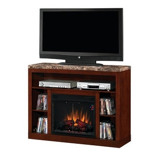 Classic Flame 23MM1824-C244 Adams Media Console Electric Fireplace - empire cherry