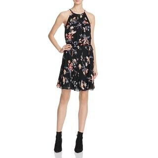 Joie Womens Makana Casual Dress Silk Pleated