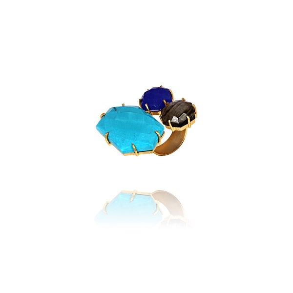 Moonlit Waters Ring- size 7