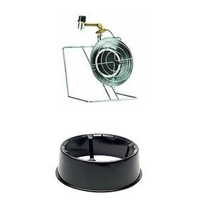 Mr. Heater Single Tank Top Heater/Cooker +Tank Foot