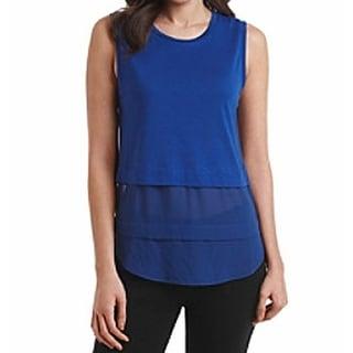 Michael Kors NEW Royal Blue Womens Size Medium M Sleeveless Blouse