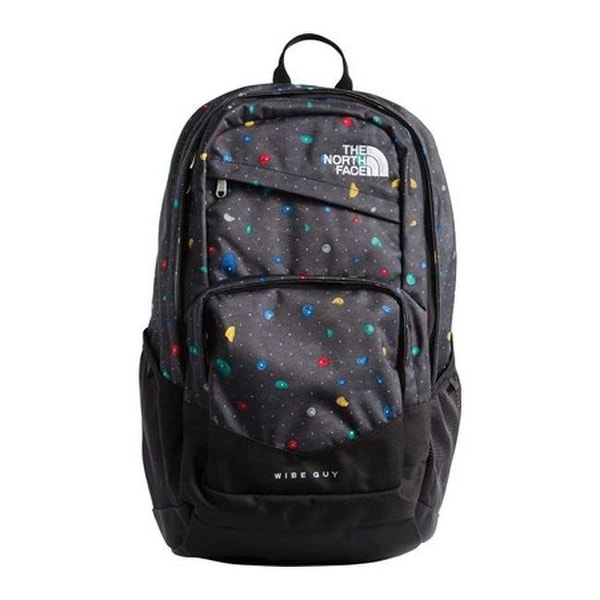 6f1a15c1287 Shop The North Face Wise Guy Backpack TNF Black Climbfetti Print TNF Black  - US One Size (Size None) - Free Shipping Today - Overstock - 25665379