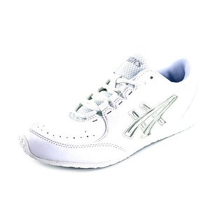 Asics Cheer LP Women  Round Toe Synthetic White Dance