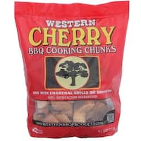 Western 28081 Cherry BBQ Cooking Chunks, 8 lbs