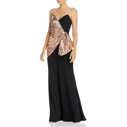 Jill Jill Stuart Women's Dress Strapless Sequin Gown