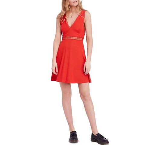 Free People Womens King of My Heart A-Line Dress