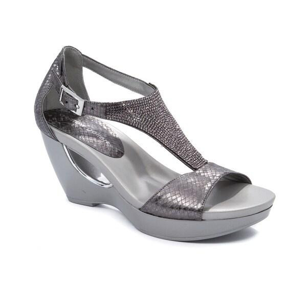 c8fb02ee7c6a1 Shop Andrew Geller ARANA Women s Sandals   Flip Flops Old Silver ...