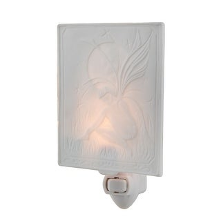 White Porcelain Moon Fairy Night Light
