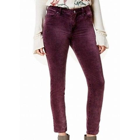 Lucky Brand Womens Velvet Jeggings Skinny Leg Pants