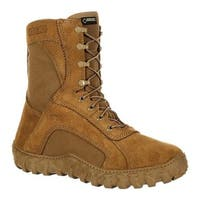 """Rocky  8"""" S2V GORE-TEX Waterproof Military Boot Coyote Brown Nylon/Leather"""