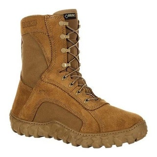 "Rocky 8"" S2V GORE-TEX Waterproof Military Boot Coyote Brown Nylon/Leather"