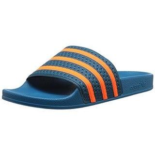 Adidas Mens Textured Signature Sport Sandals - 15