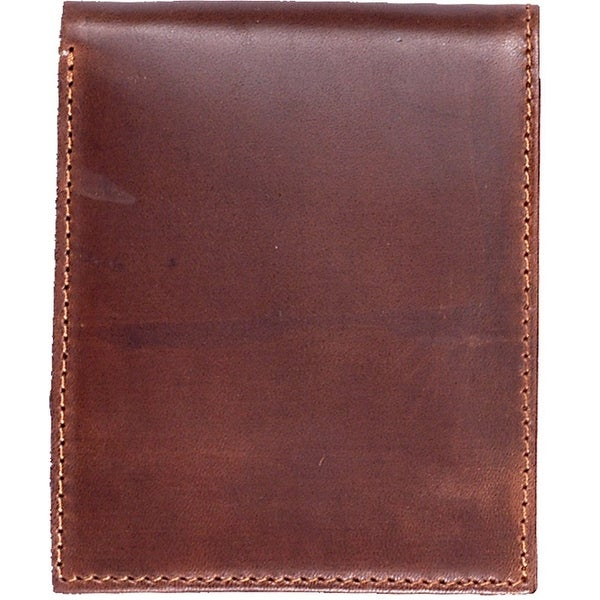 3D Wallet Mens Bifold Basic Leather Currency Pockets - One size