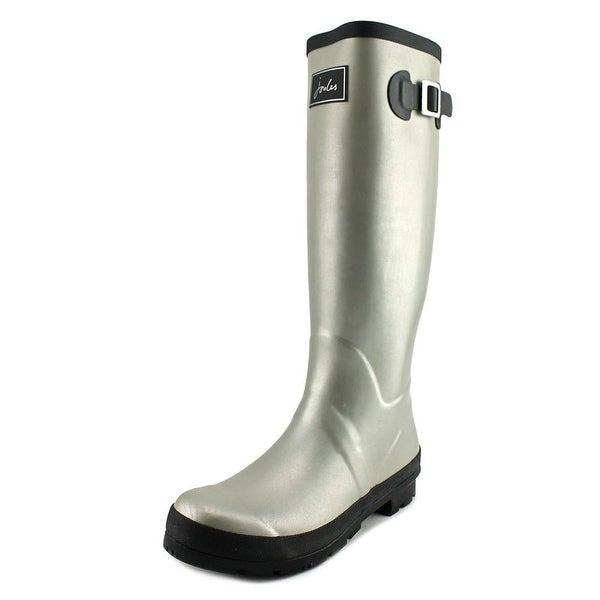 Joules Fieldwelly Women Silver Snow Boots