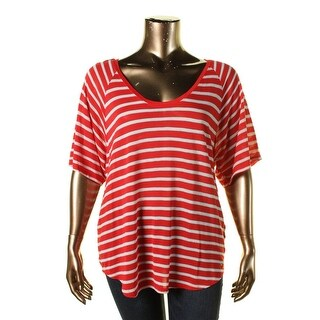 Tommy Hilfiger Womens Jersey Metallic T-Shirt