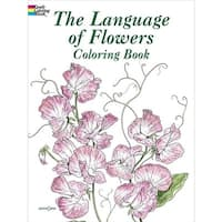 Dover Publications DOV-43035 The Language of Flowers Coloring Book
