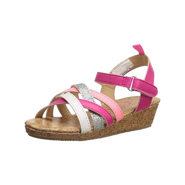 Carters Lana C Sandals Toddler Girls Faux Leather