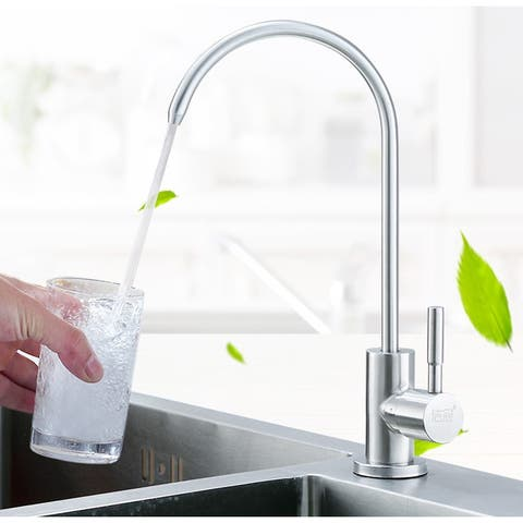 Moda MD-DW-WJLT-004 304 Stainless Steel drink water faucet silver