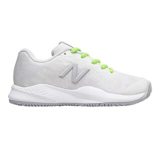 Kids New Balance Girls KC996WT3 Low Top Lace Up Tennis Shoes - 10.5 m us kids