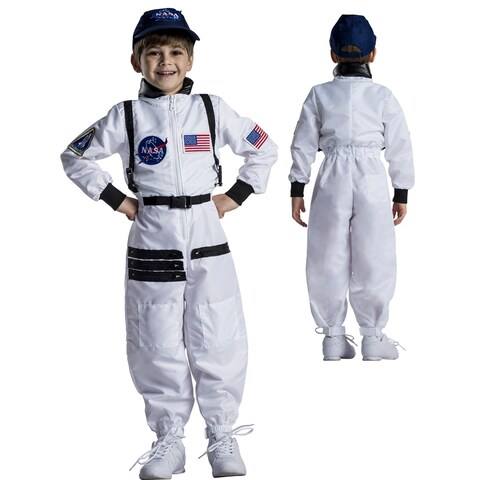 Kids Astronaut Space Suit Halloween Costume