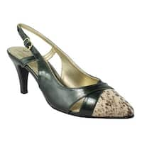 Soft Style Womens  Green Pumps, Classic Heels Size 6.5