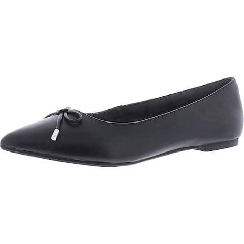 Me Too Womens Alisia Ballet Flats Leather Slip On