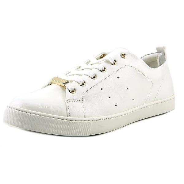 Aldo Aroalla Women Round Toe Leather White Walking Shoe