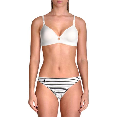 Polo Ralph Lauren Womens Taylor Striped Hipster Swim Bottom Separates