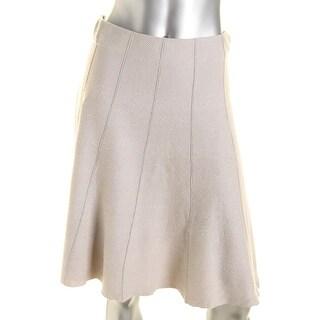 Nic + Zoe Womens Paneled Twirl A-Line Skirt - XS