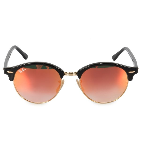 3d7de2305 Shop Ray-Ban Clubround Classic Sunglasses RB4246 901/4W 51 - On Sale ...