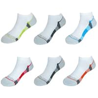 Fruit of the Loom Boy's No Show Socks (6 Pair Pack)