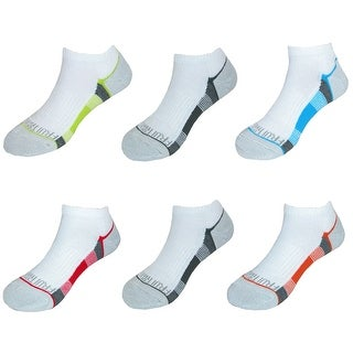 Fruit of the Loom Boy's No Show Socks (6 Pair Pack) (2 options available)