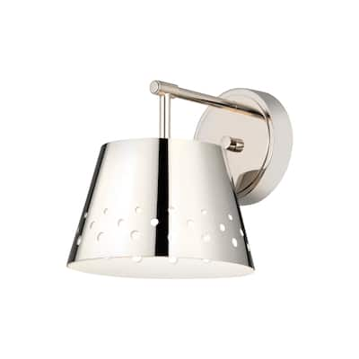 Katie 1 Light Wall Sconce - Polished Nickel