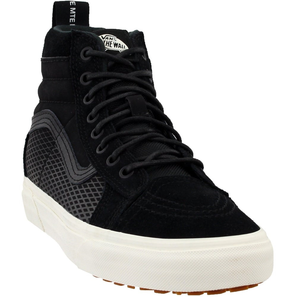 New arrival vans sk8 hi black trainers for women outlet