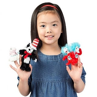 Cat in the Hat Finger Puppets (Set of 4)