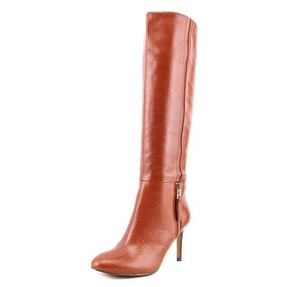 Nine West Vintage Women  Round Toe Leather  Knee High Boot
