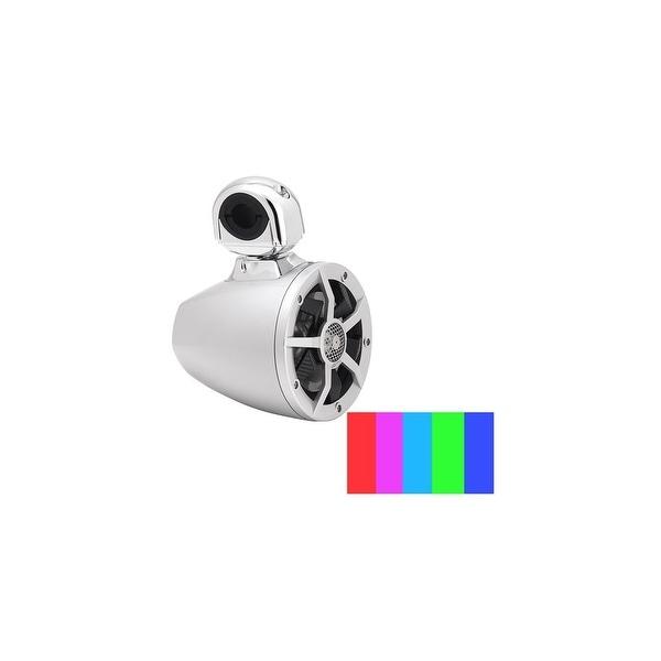 Clarion 6.5 Inch Silver 2-Way 6.5 Inch Silver 2-Way Marine Tower Speaker