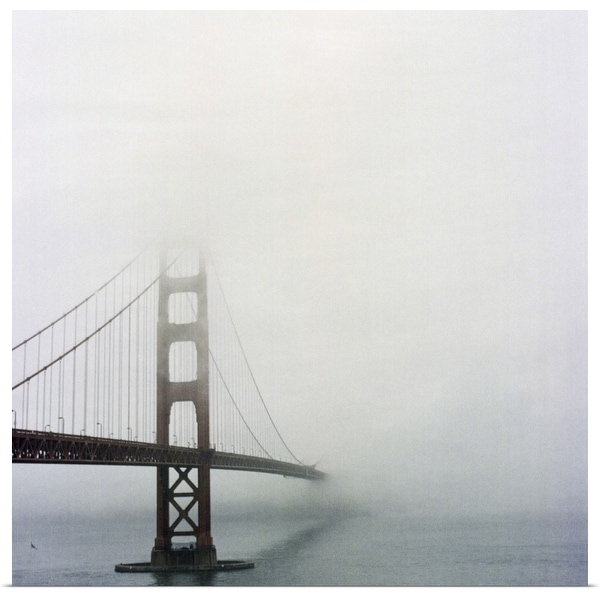 """Golden gate bridge, San Francisco, California."" Poster Print"
