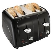 Proctor Silex 24201 Cool-Touch 4 Slice Toaster - Black