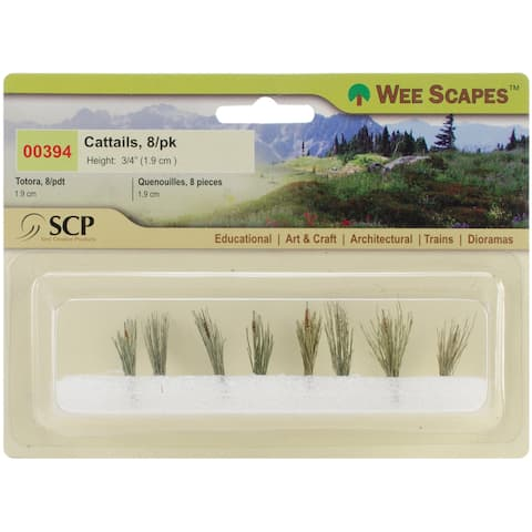 "Cattails .75"" 8/Pkg-"