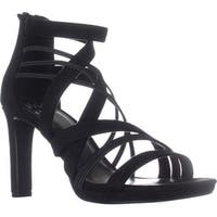Impo Temple Strappy Dress Sandals, Black