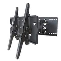 2xhome - NEW TV Wall Mount Bracket (Dual Arm) - Secure Low Profile Cantilever LED LCD Plasma Smart 3D WiFi Flat Panel Screen