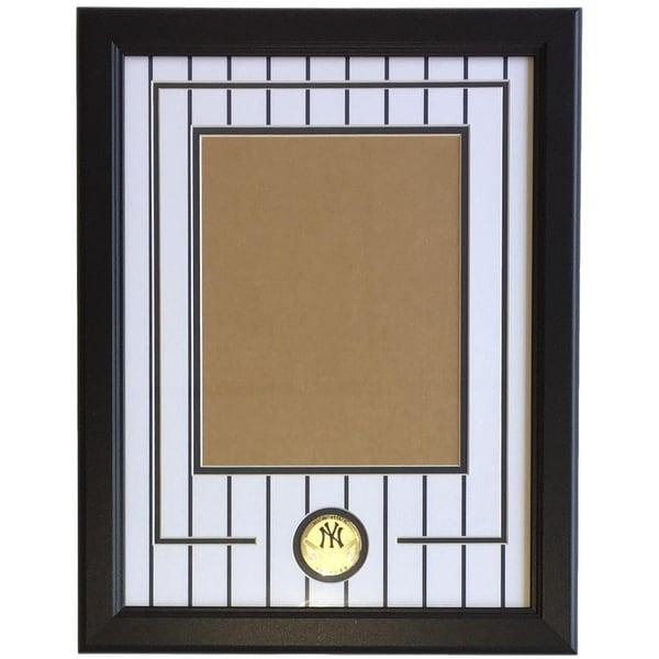 Shop New York Yankees 8x10 Vertical Photo Pinstripe Frame Kit Free