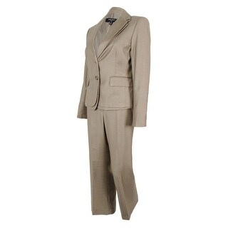 Nine West Women's Cannes Two-Button Pant Suit - 8