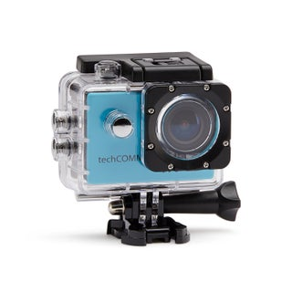 TechComm SPH9 Ultra 4K 16MP Waterproof Action Camera with Accessories (Option: Blue)