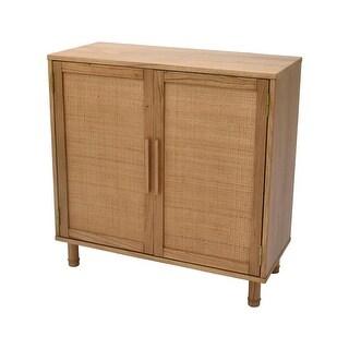 Link to Hopper Studio Delancey Light Blond 2-Door Cabinet Similar Items in Dressers & Chests