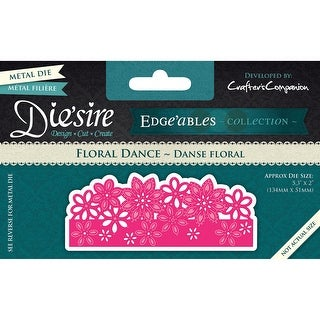 Die'sire Edge'ables Cutting & Embossing Die-Floral Dance